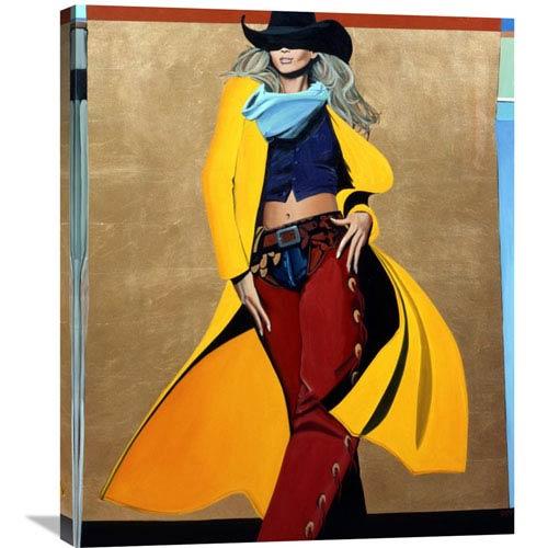 Global Gallery The Runaway By David Devary, 24 X 30-Inch Wall Art