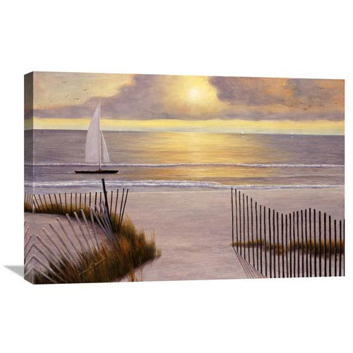 Global Gallery When The Sun Goes Down By Diane Romanello, 30 X 20-Inch Wall Art