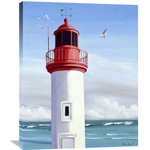 Global Gallery Le Phare By Henri Deuil, 28 X 35-Inch Wall Art