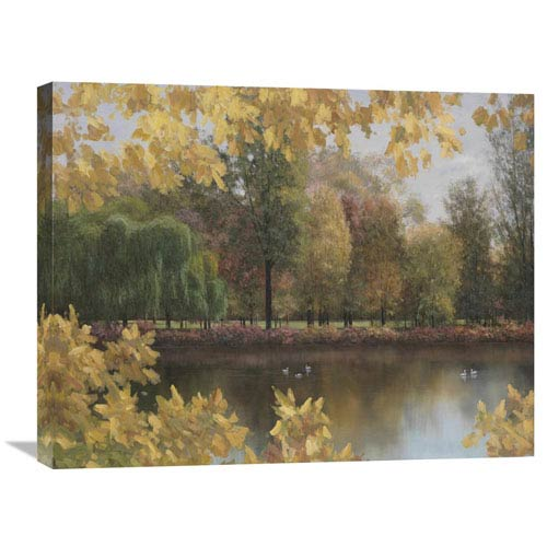 Global Gallery Golden Palette By Diane Romanello, 28 X 22-Inch Wall Art