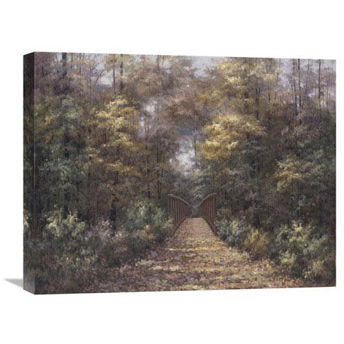 Global Gallery Wonder Of Autumn By Diane Romanello, 24 X 20-Inch Wall Art