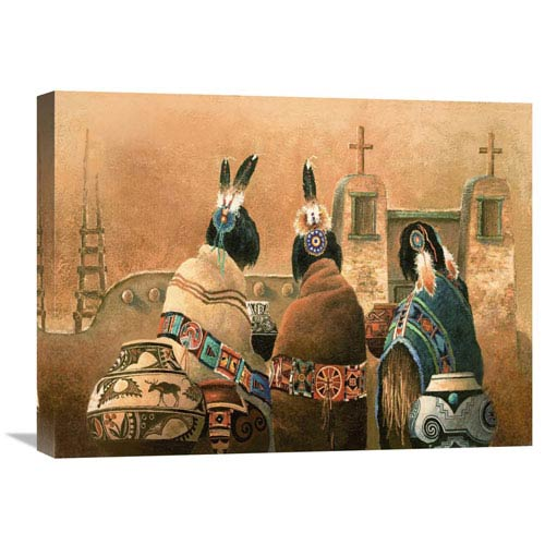 Global Gallery Mission Trio By James Lee, 24 X 18-Inch Wall Art