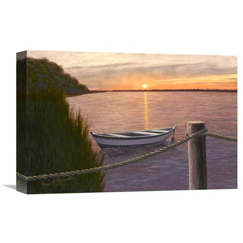 Global Gallery Setting Sun By Diane Romanello, 18 X 12-Inch Wall Art