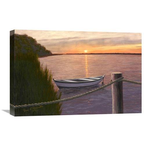 Global Gallery Setting Sun By Diane Romanello, 24 X 16-Inch Wall Art