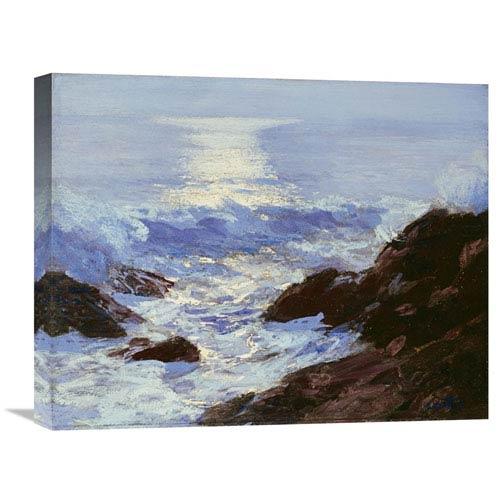 Global Gallery Moonlight By Edward Henry Potthast, 22 X 17-Inch Wall Art