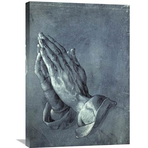 Global Gallery Praying Hands By Albrecht Durer, 21 X 30-Inch Wall Art