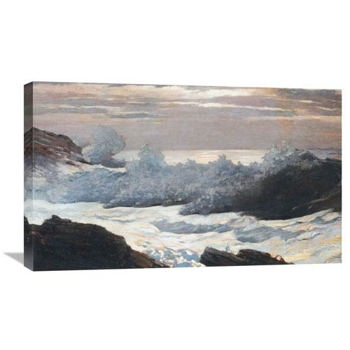 Global Gallery Early Morning After A Storm On The Sea By Winslow Homer, 30 X 18-Inch Wall Art