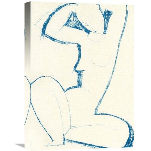 Global Gallery Caryatid 5 By Amedeo Modigliani, 15 X 22-Inch Wall Art