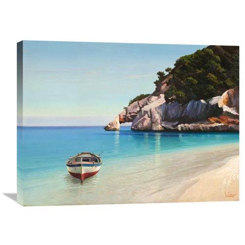 Global Gallery Baia Mediterranea By Adriano Galasso, 32 X 24-Inch Wall Art