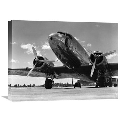 Global Gallery 1940S Passenger Airplane By H. Armstrong Roberts, 24 X 18-Inch Wall Art