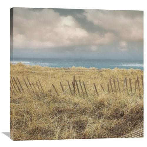 Global Gallery Seaside Ii Left By Judy Mandolf, 36 X 36-Inch Wall Art