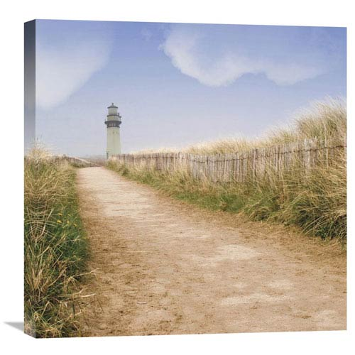 Global Gallery Seaside Ii Center By Judy Mandolf, 24 X 24-Inch Wall Art