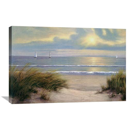 Global Gallery Gentle Breeze By Diane Romanello, 36 X 24-Inch Wall Art