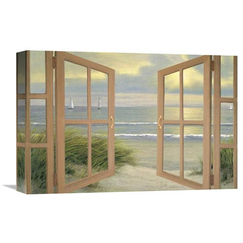 Global Gallery Gentle Breeze Through Door By Diane Romanello, 18 X 12-Inch Wall Art