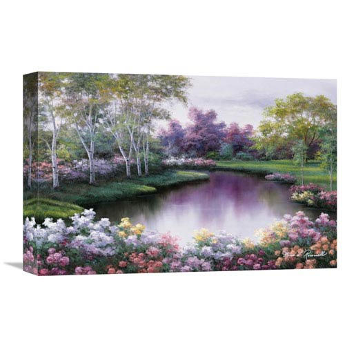 Global Gallery Springtime Symphony By Diane Romanello, 18 X 12-Inch Wall Art