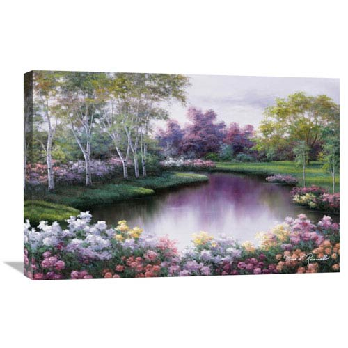 Global Gallery Springtime Symphony By Diane Romanello, 30 X 20-Inch Wall Art
