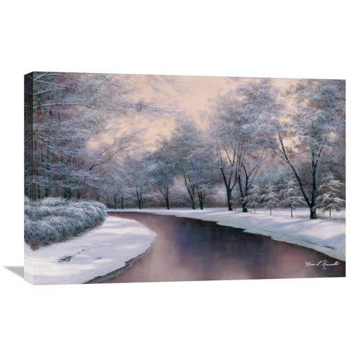 Global Gallery Winter Sunlight By Diane Romanello, 30 X 20-Inch Wall Art