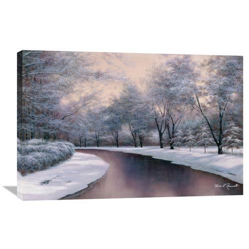 Global Gallery Winter Sunlight By Diane Romanello, 36 X 24-Inch Wall Art