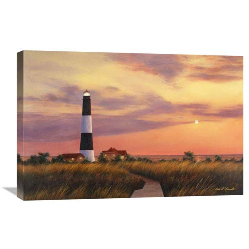 Global Gallery Fire Island Lighthouse By Diane Romanello, 30 X 20-Inch Wall Art
