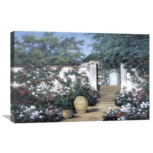 Global Gallery Jardin De Fleur By Diane Romanello, 30 X 20-Inch Wall Art