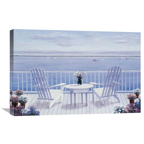 Global Gallery Lazy Afternoon By Diane Romanello, 30 X 20-Inch Wall Art