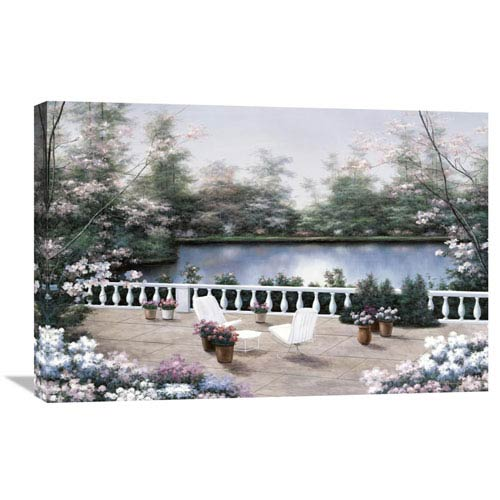 Global Gallery Terrace View By Diane Romanello, 30 X 20-Inch Wall Art