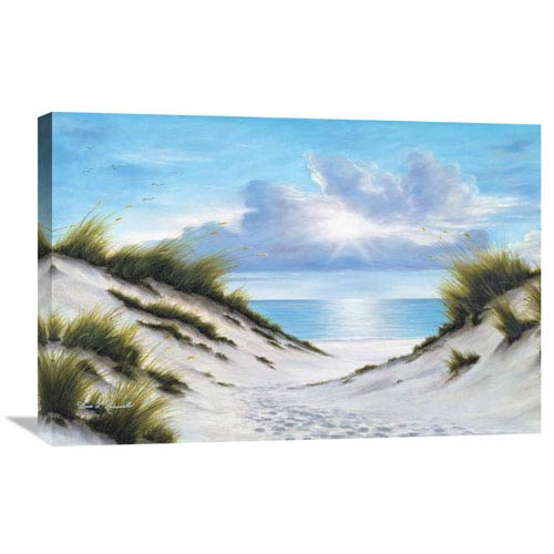 Global Gallery Sand And Sea By Diane Romanello, 30 X 20-Inch Wall Art