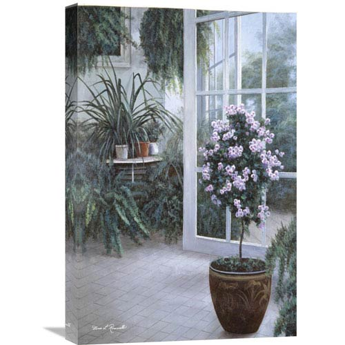 Global Gallery Patio Light By Diane Romanello, 16 X 24-Inch Wall Art
