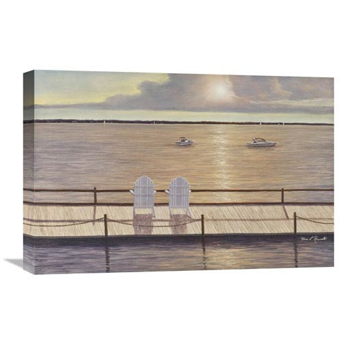 Global Gallery On The Bay By Diane Romanello, 24 X 16-Inch Wall Art
