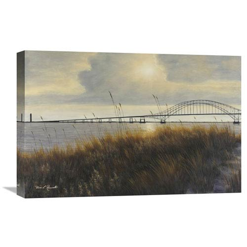 Global Gallery Leisure Time On Long Island By Diane Romanello, 24 X 16-Inch Wall Art