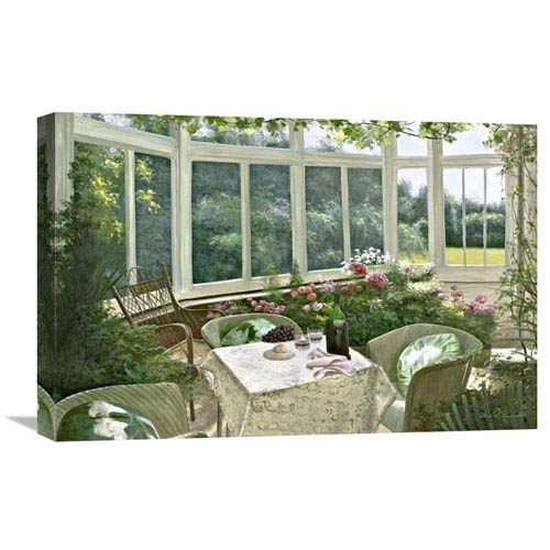 Global Gallery Sunroom By Diane Romanello, 24 X 16-Inch Wall Art
