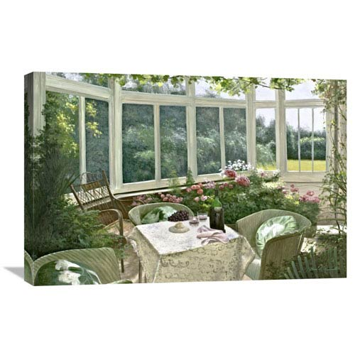 Global Gallery Sunroom By Diane Romanello, 30 X 20-Inch Wall Art