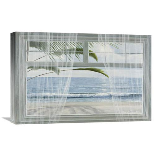 Global Gallery View Of The Tropics By Diane Romanello, 24 X 16-Inch Wall Art