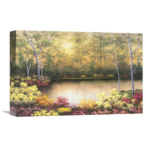 Global Gallery Bursting In Autumn By Diane Romanello, 18 X 12-Inch Wall Art