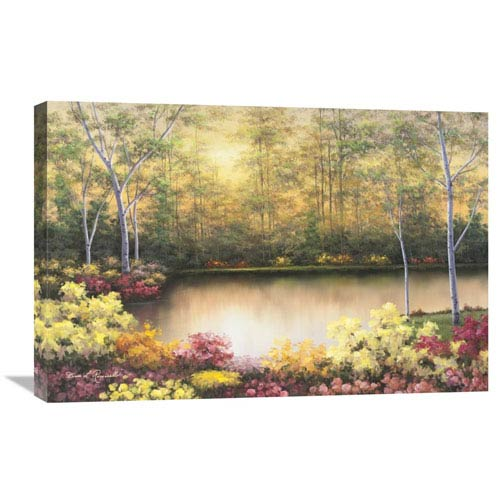 Global Gallery Bursting In Autumn By Diane Romanello, 30 X 20-Inch Wall Art