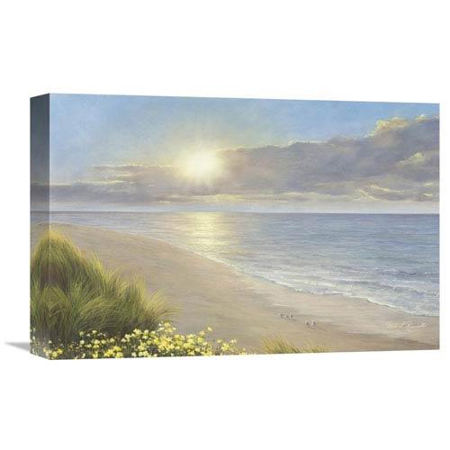 Global Gallery Beach Serenity By Diane Romanello, 18 X 12-Inch Wall Art