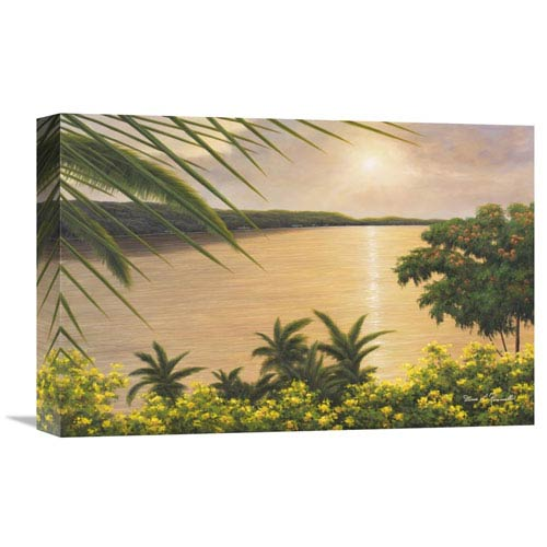Global Gallery Wonder Of The Tropics By Diane Romanello, 18 X 12-Inch Wall Art