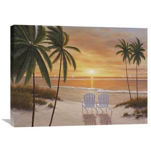 Global Gallery Tropical Sun Watch By Diane Romanello, 32 X 24-Inch Wall Art