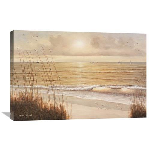 Global Gallery Ocean Glow By Diane Romanello, 36 X 24-Inch Wall Art