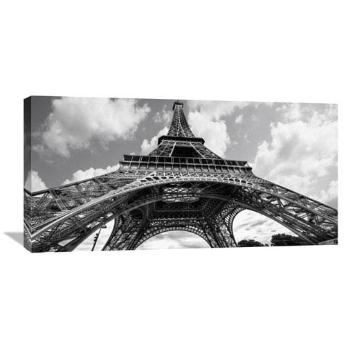Global Gallery The Eiffel Tower In Spring By Elias Jonette, 36 X 18-Inch Wall Art