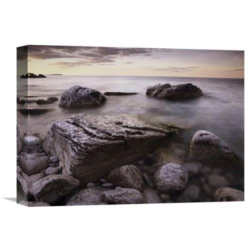 Global Gallery Log Dump Beach, Bruce Peninsula National Park, Ontario, Canada By Tim Fitzharris, 12 X 16-Inch Wall Art