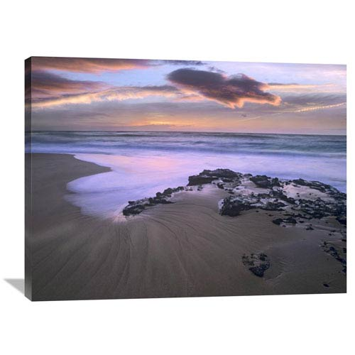 Global Gallery Sandy Beach, Oahu, Hawaii By Tim Fitzharris, 30 X 40-Inch Wall Art