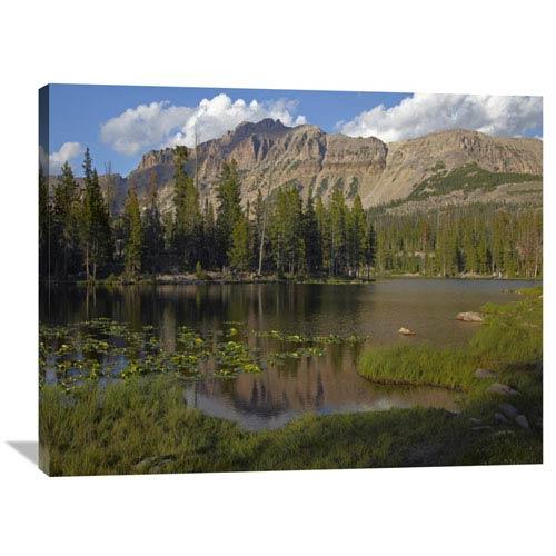 Global Gallery Butterfly Lake, Uinta Range, Utah By Tim Fitzharris, 30 X 40-Inch Wall Art