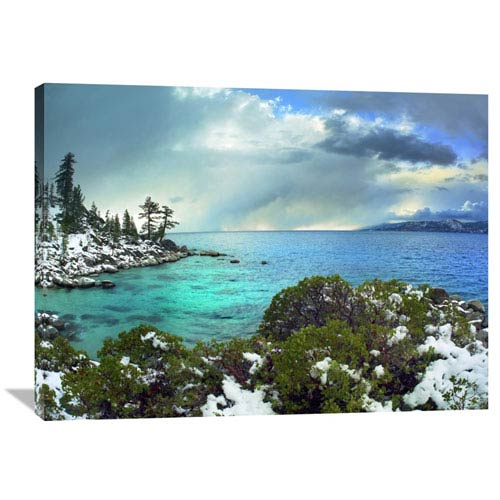 Global Gallery Memorial Point, Lake Tahoe, Nevada By Tim Fitzharris, 30 X 40-Inch Wall Art