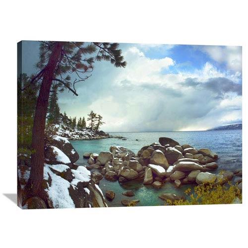 Global Gallery Memorial Point, Lake Tahoe, Nevada By Tim Fitzharris, 30 X 40-Inch Wall Art