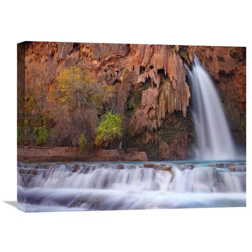 Global Gallery Havasu Falls, Grand Canyon, Arizona By Tim Fitzharris, 18 X 24-Inch Wall Art
