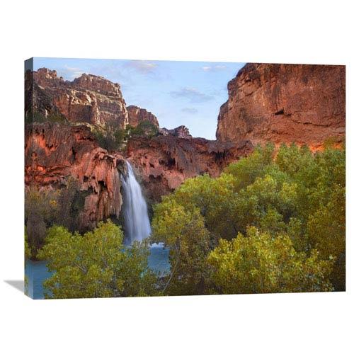 Global Gallery Havasu Falls, Grand Canyon, Arizona By Tim Fitzharris, 24 X 32-Inch Wall Art