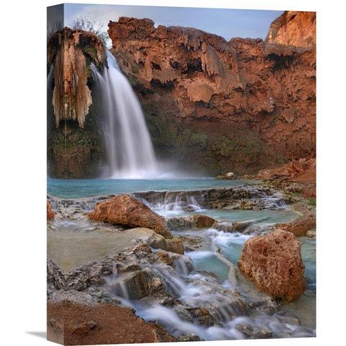 Global Gallery Havasu Falls, Grand Canyon, Arizona By Tim Fitzharris, 16 X 12-Inch Wall Art