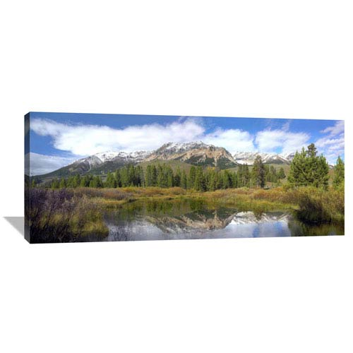 Global Gallery Easely Peak, Boulder Mountains, Idaho By Tim Fitzharris, 20 X 50-Inch Wall Art