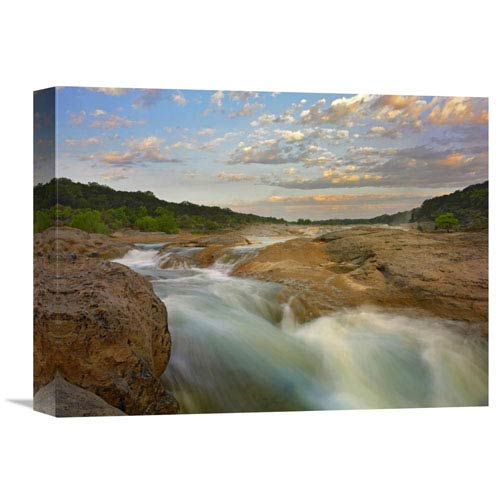 Global Gallery River In Pedernales Falls State Park, Texas By Tim Fitzharris, 12 X 16-Inch Wall Art